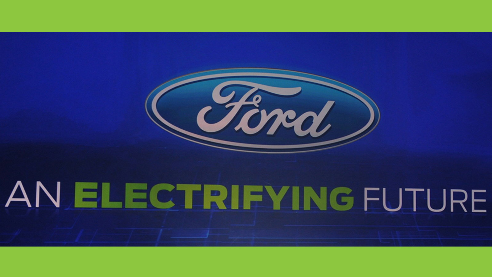 Ford will Be a Top Player in Electric Solutions