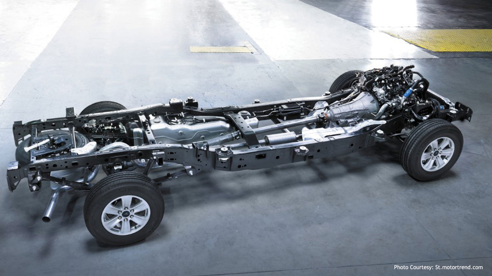 Ford F150 Aluminum Construction
