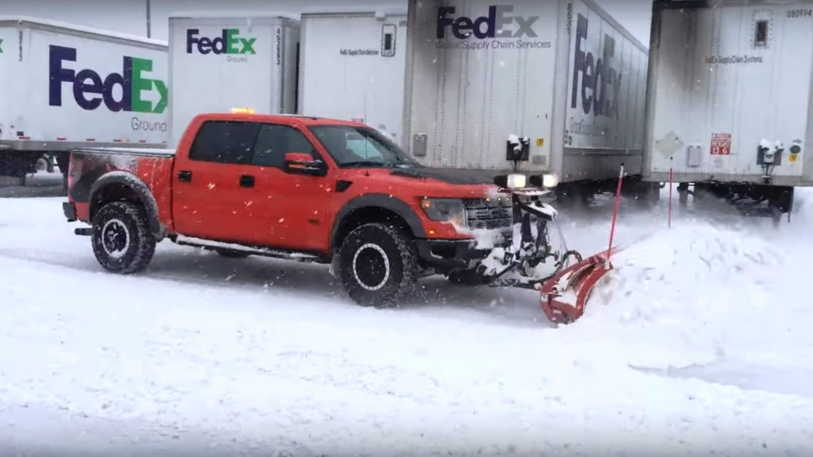 Ford Raptor for Playing and Plowing