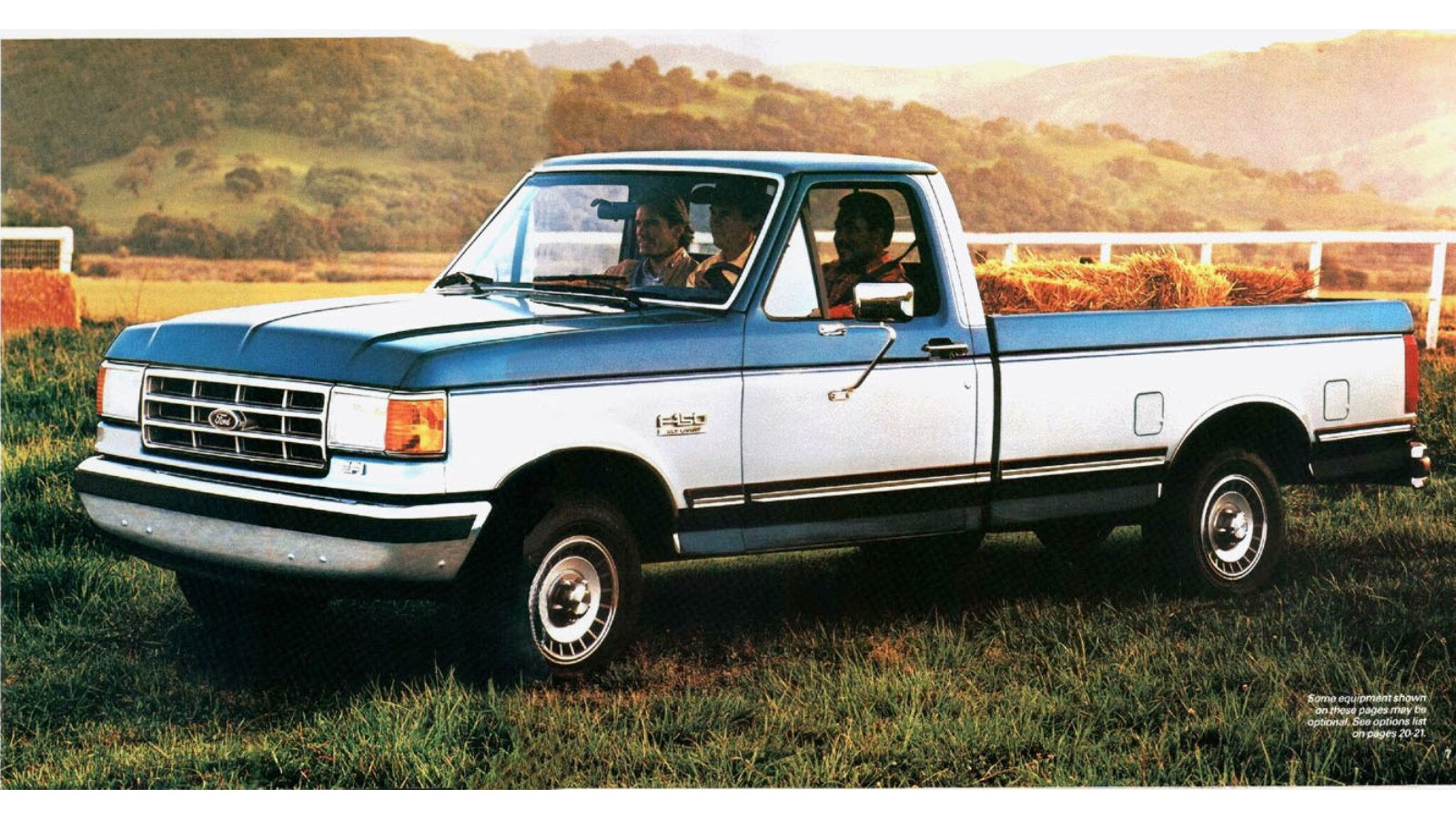 1987 Ford F-150 (300ci/manual 4sd) - 17 city/21 highway