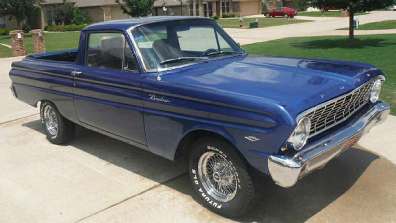 1960 to 1965 Falcon Ranchero
