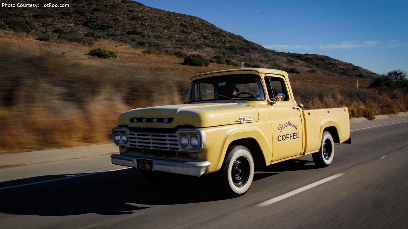 The Odd Squad Celebrate SoCal Vintage Ford Trucks