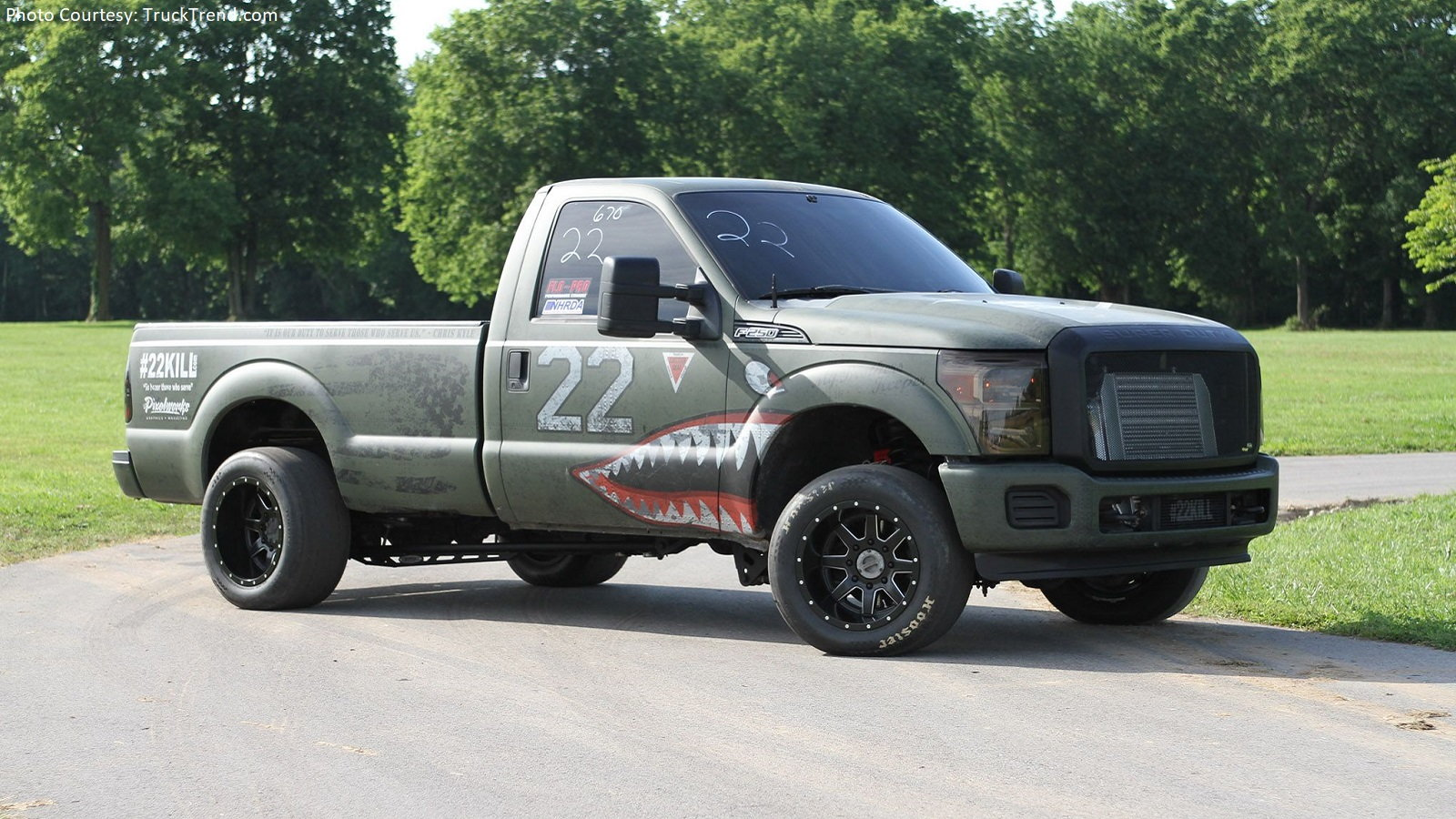 Taking a Second Look: Ford F-250 Built to Help Vets and Tear up Drag Strips