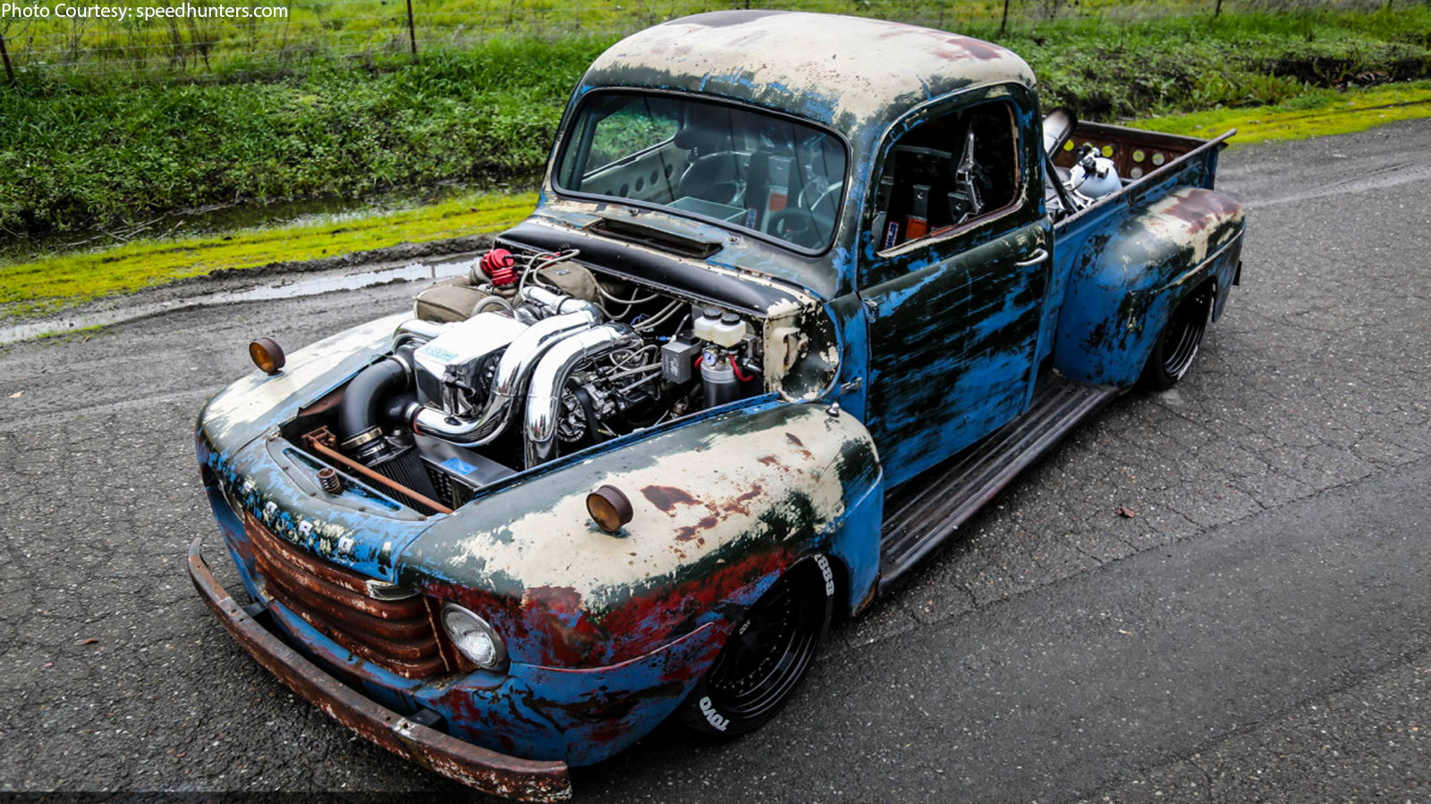 Old Smokey, Ford F1, Restomod