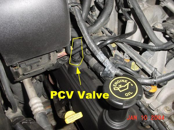 Ford F150 1997 To 2008 How Replace Pcv Valve Fordtrucksrhfordtrucks: Ford Pcv Valve Location On A 1987 At Gmaili.net