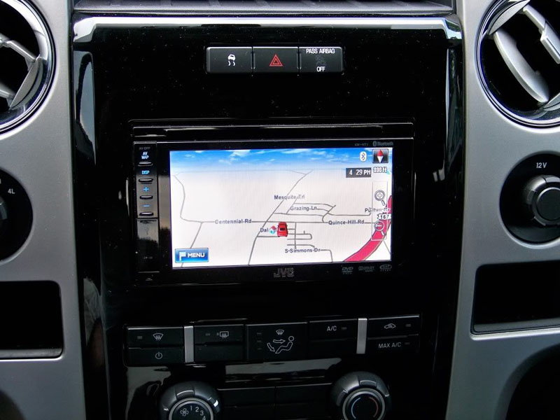 Ford F  How To Install A Navigation System