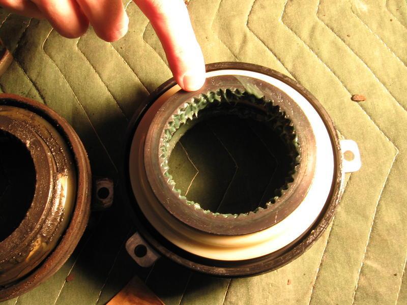 manual locking hubs wont engage
