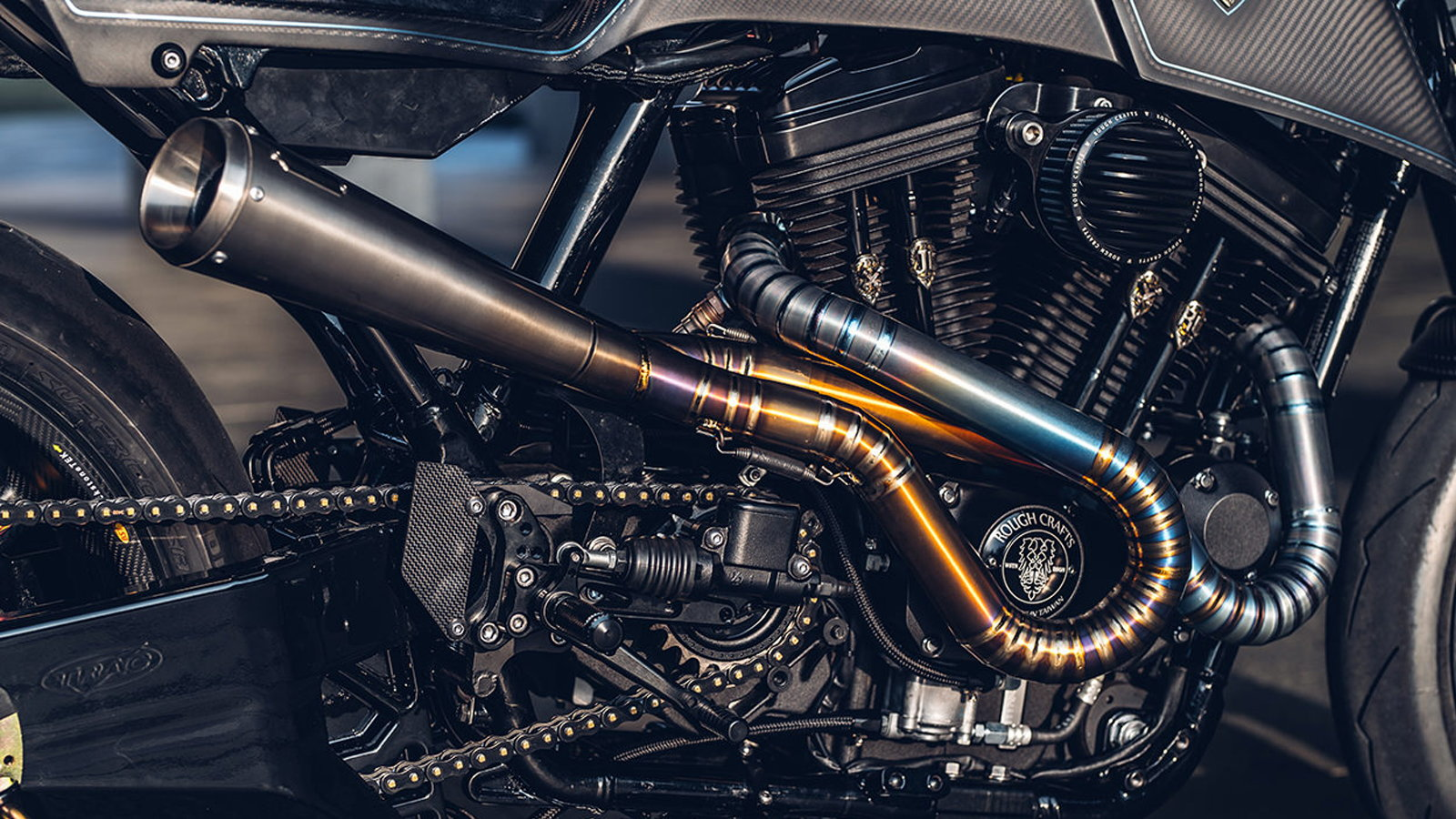 Harley 48 is Beautifully 'Rough' Crafted Sportster