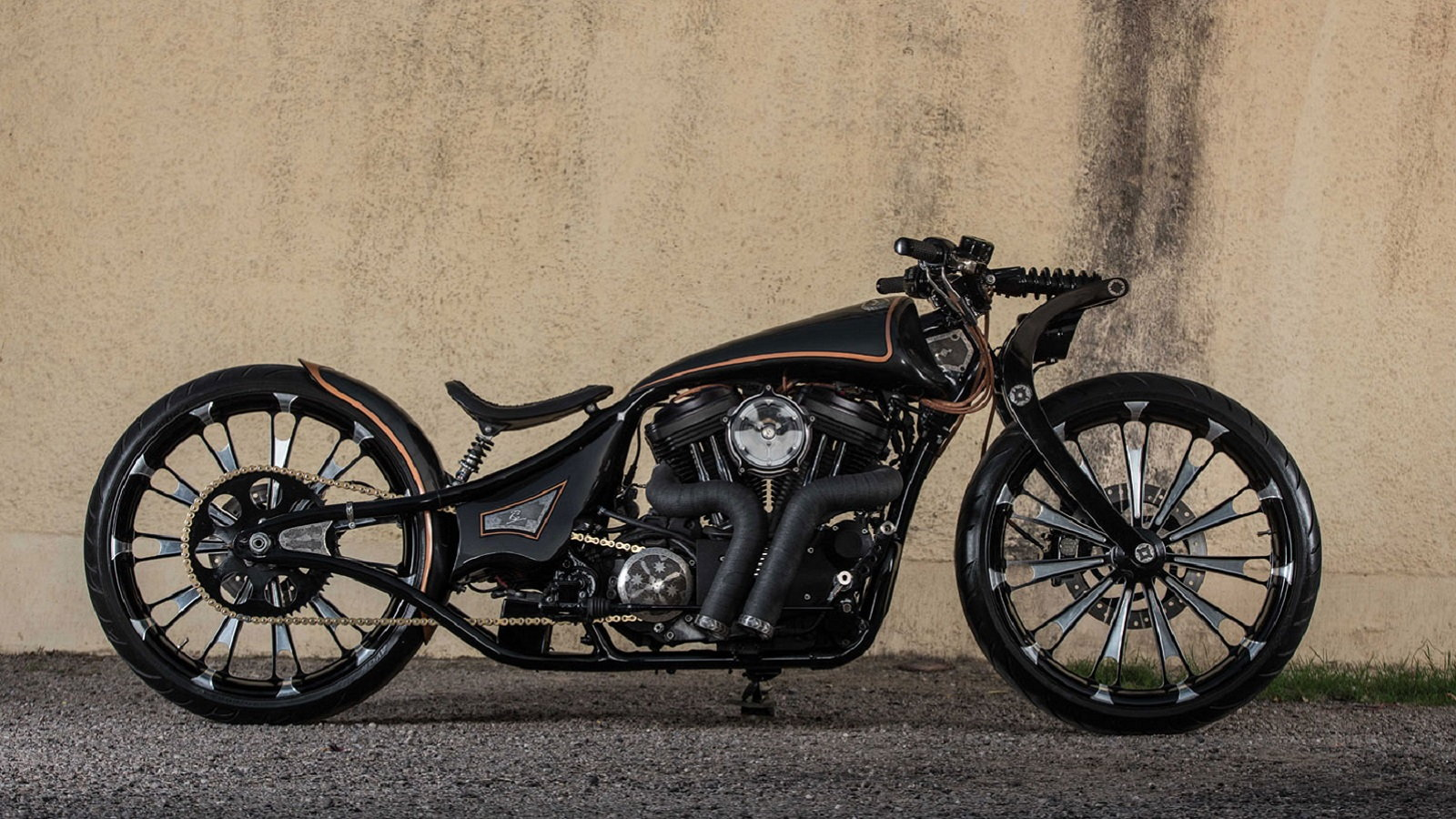 Indian-Built Custom Iron 883 Looks like the Future
