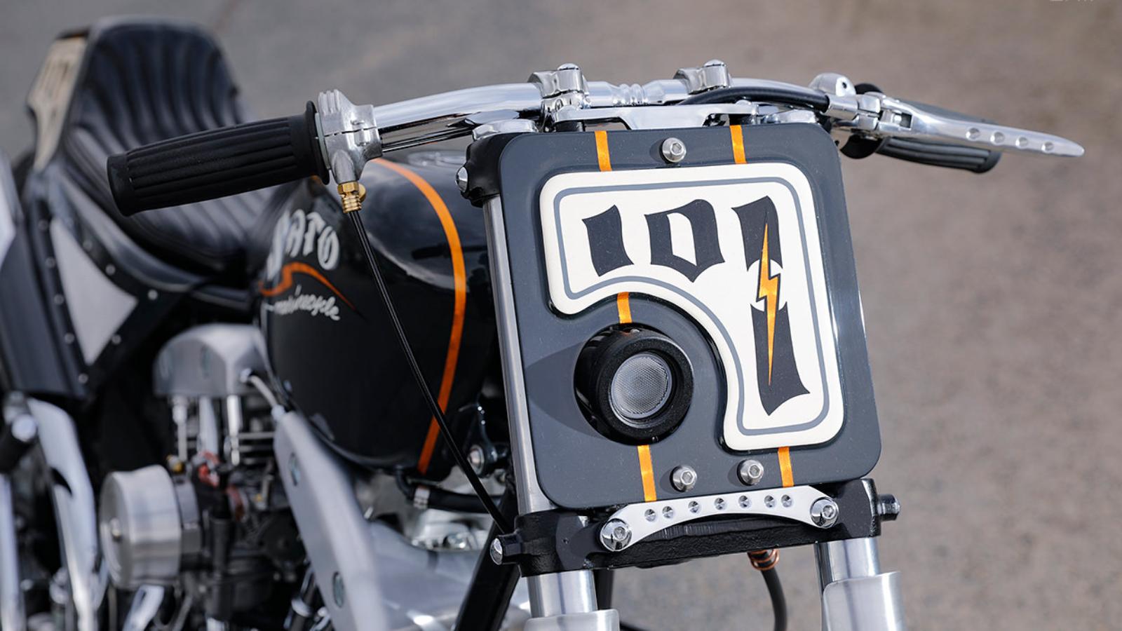 1968 Harley Shovelhead by Sato Marine