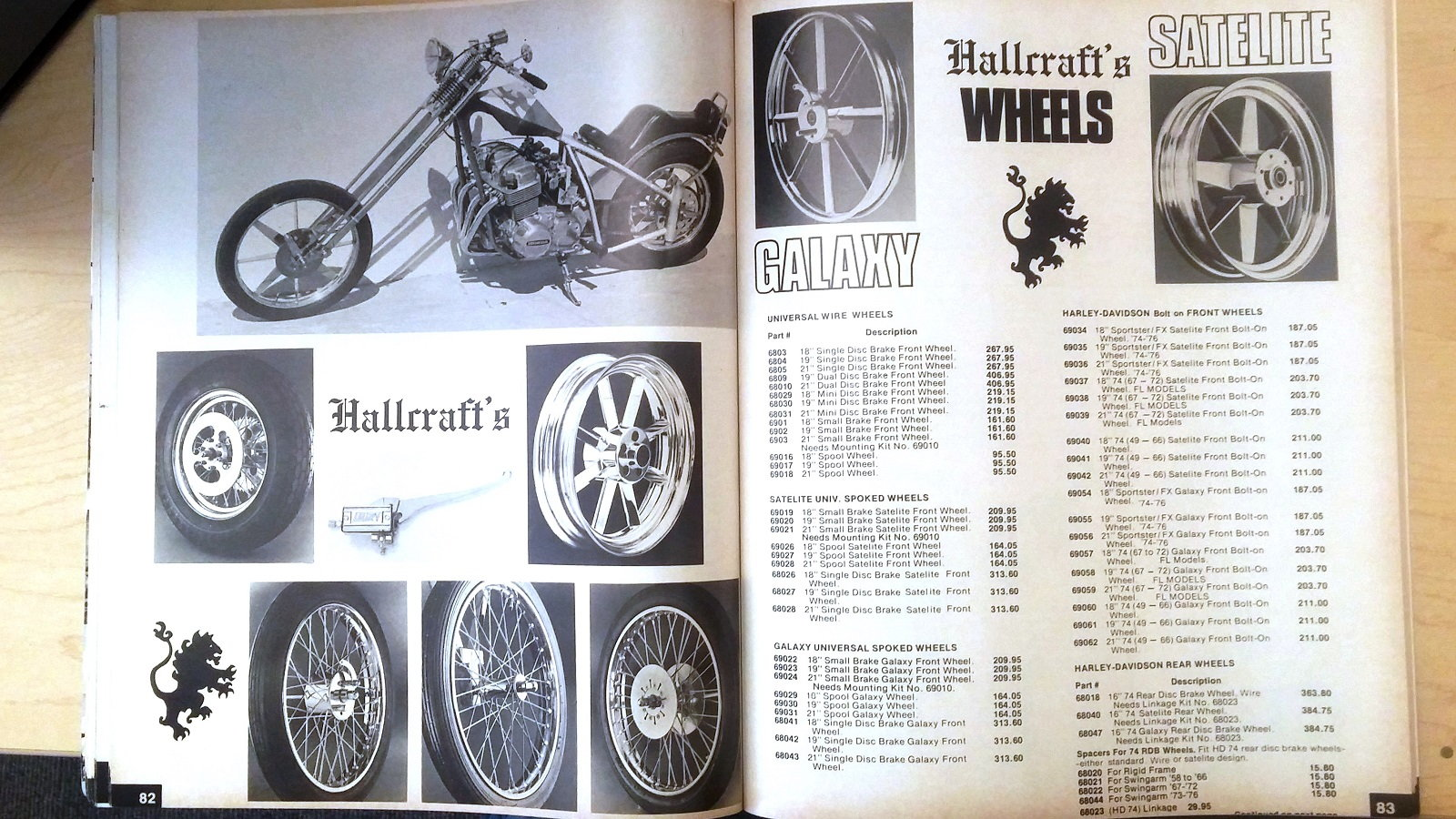 12 Cool Things Learned From The 1977 Jammers Handbook Hdforums Cycle Electrics Panhead Wiring Diagram Hallcrafts Awesome Aftermarket Wheels