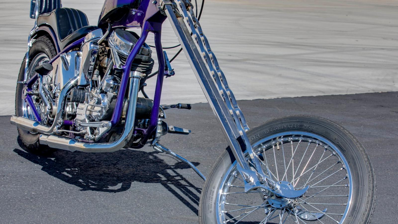 1954 Harley-Davidson Panhead Chopper Is a '70s Original