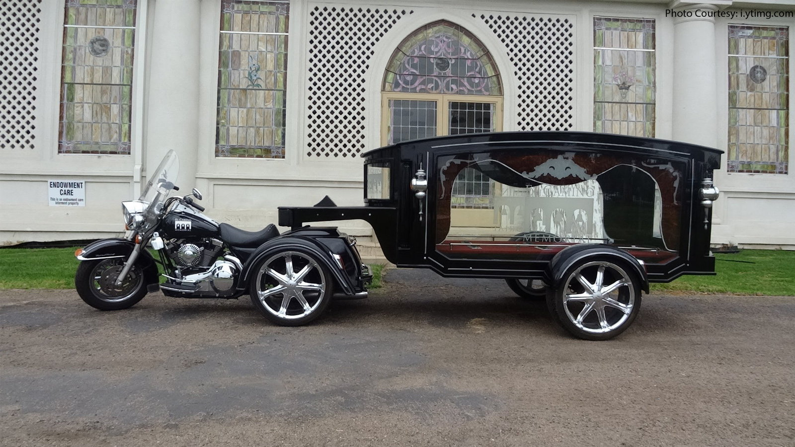 Hearse Funeral Chopper