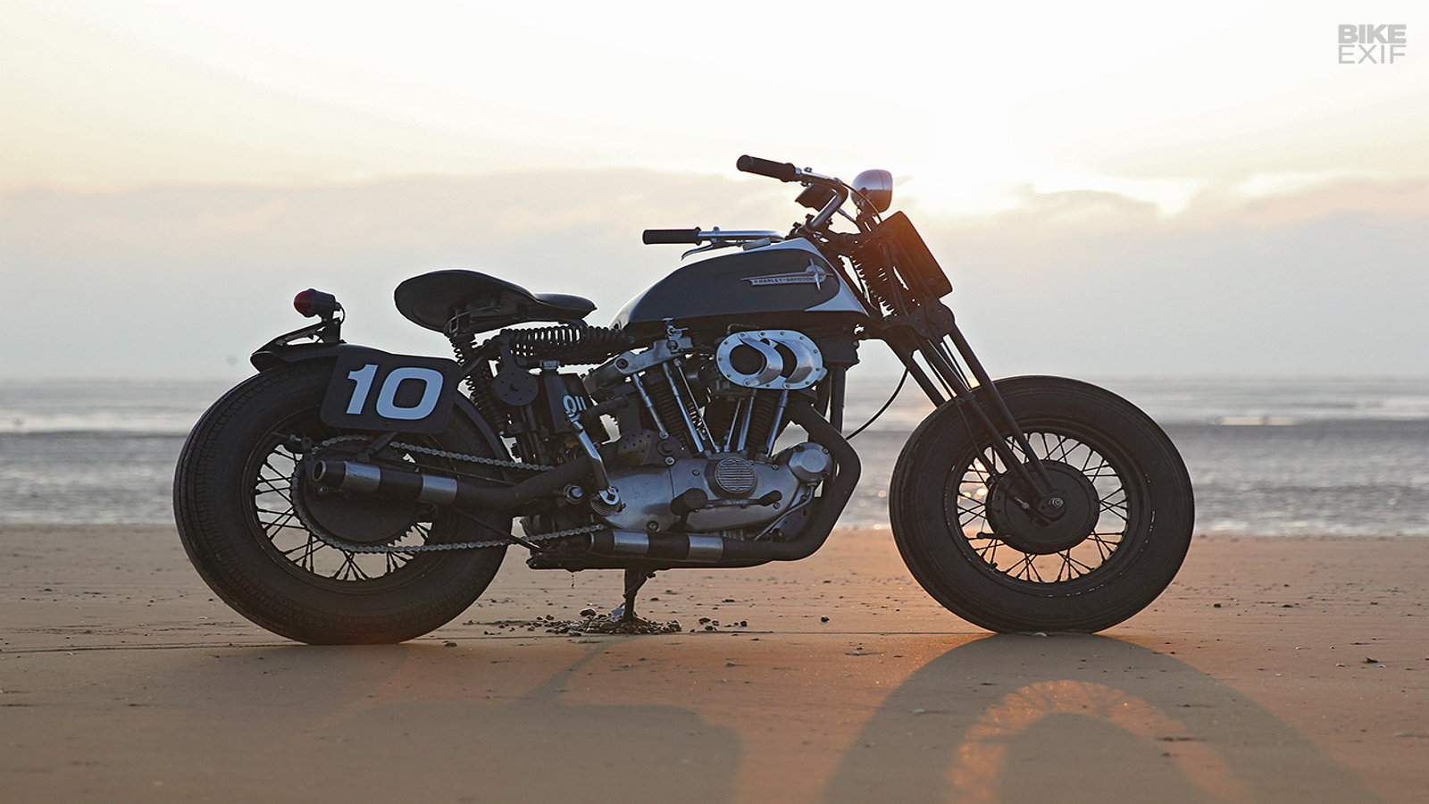 1970s Ironhead Sportster XLCH