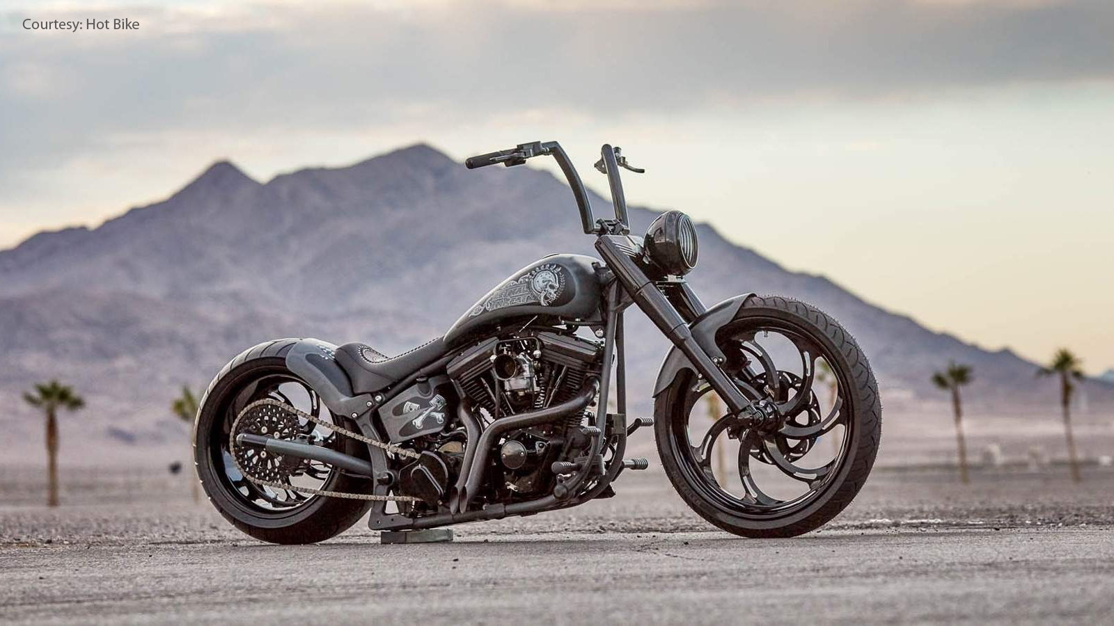 1996 Fat Boy From Hell Bent Custom Cycles