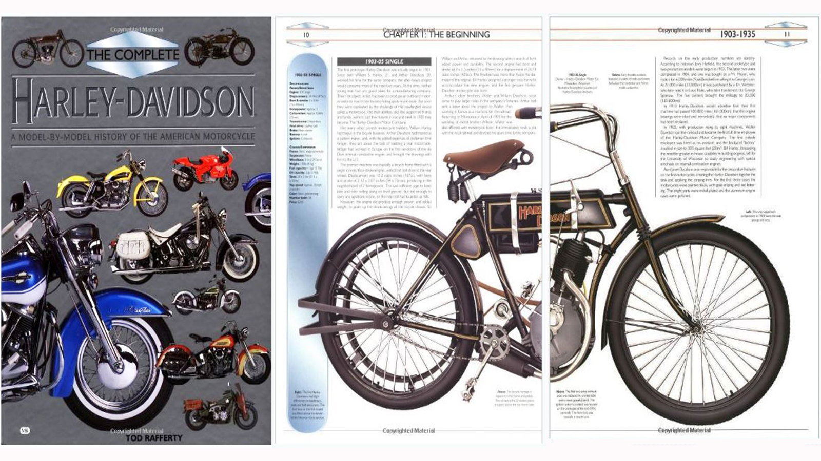 Complete Harley Davidson: A Model-by-Model History - Todd Rafferty