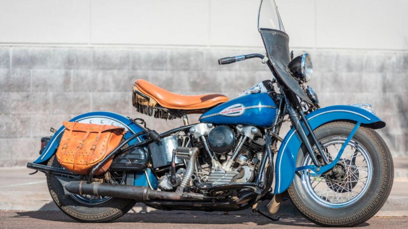 1945 Harley EL Knucklehead: Rare, Stunning War Era Survivor