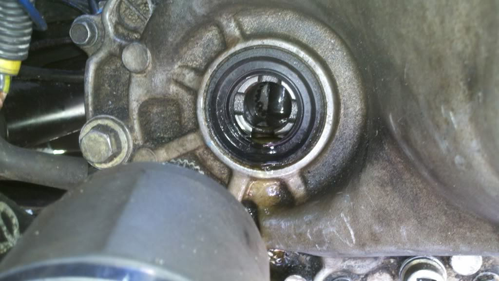 Honda Civic Why is Transmission Leaking - Honda-Tech