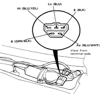 How To Test Windshield Wiper Motor likewise Skoda Fabia Wiper Wiring Diagram as well Index php besides Dr3 Lucas Wiring Diagram additionally Corvette Wiper Motor Wiring Diagram. on wiring diagram for lucas wiper motor