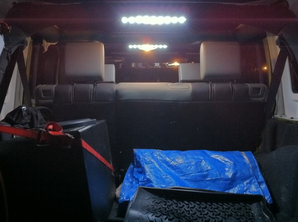 LED dome light strips. & Jeep Wrangler JK 2007-present How to Install LED Foot Well ... azcodes.com