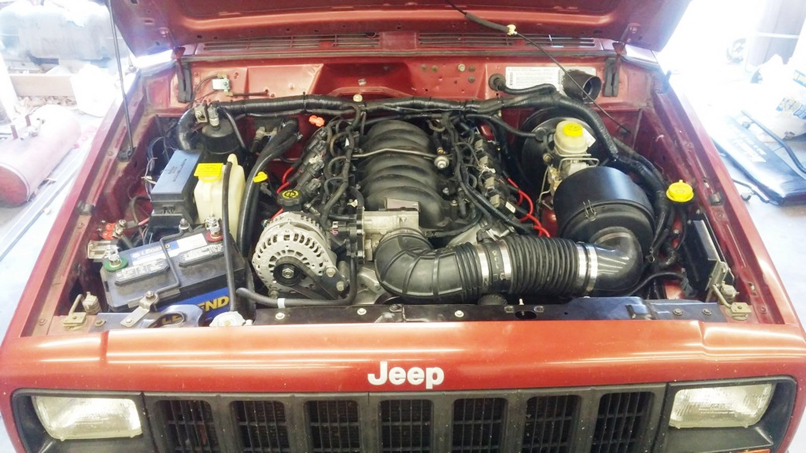 How To Ls Swap A Jeep Xj Cherokee Photos Jk Forum