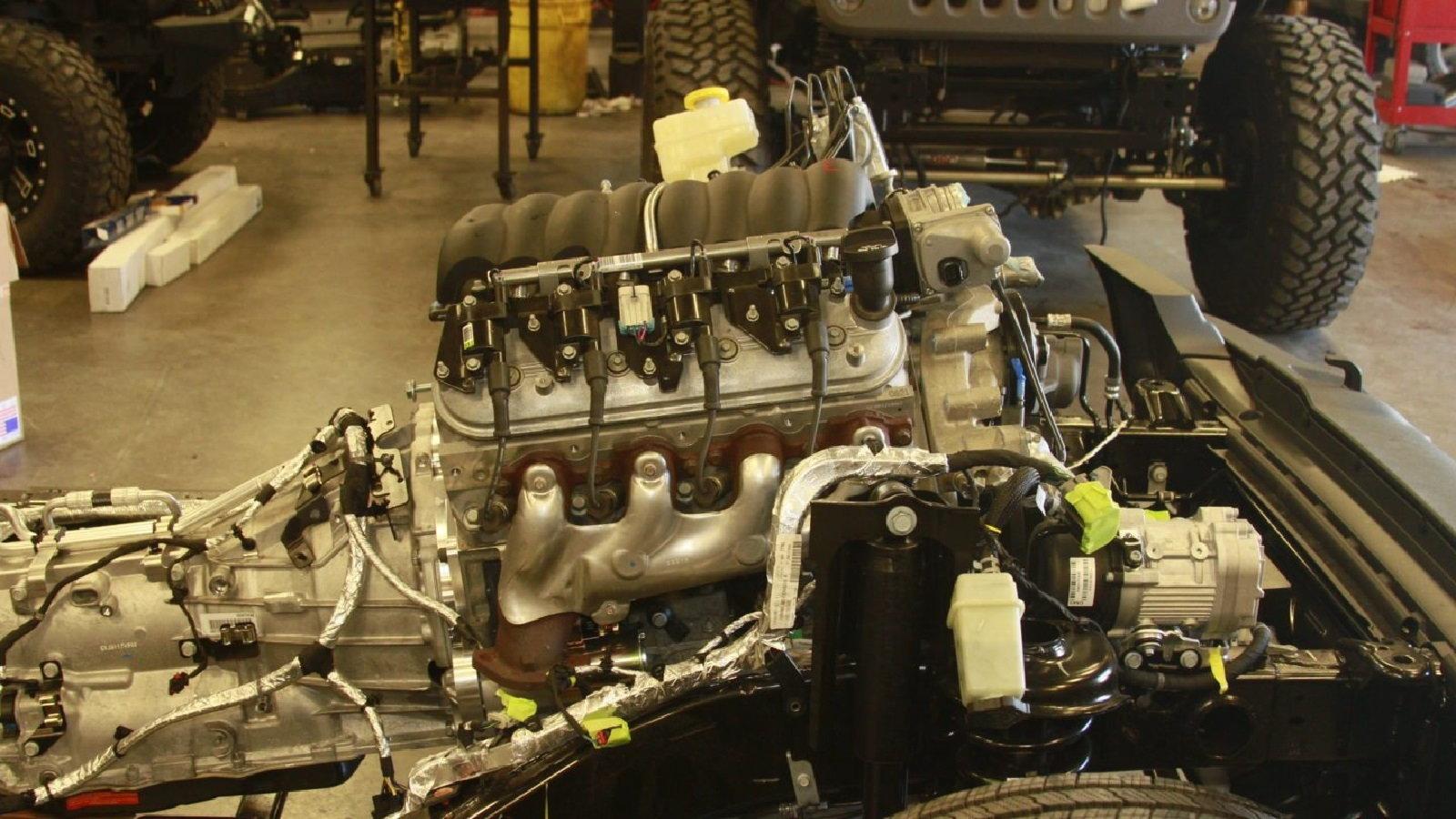 Get a 2018 Wrangler With a Chevy LS V8