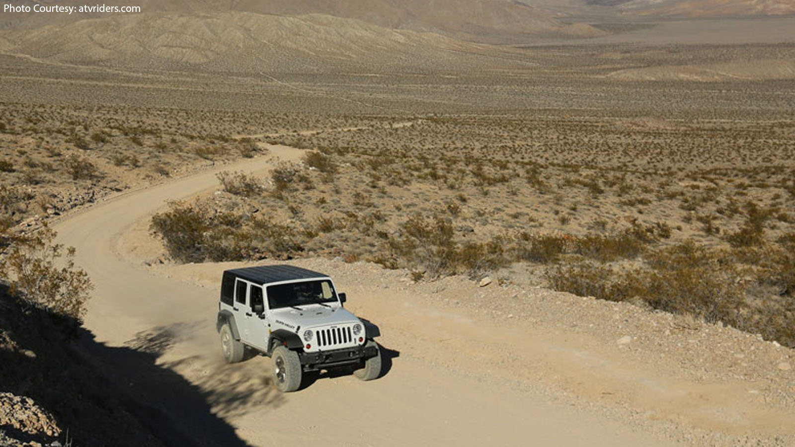 Off-Roading Death Valley