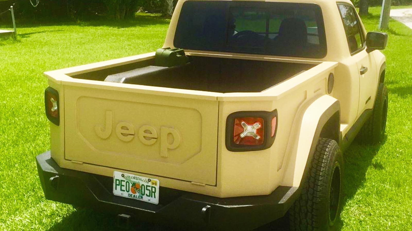 Jeep Renegade, Comanche, Conversion