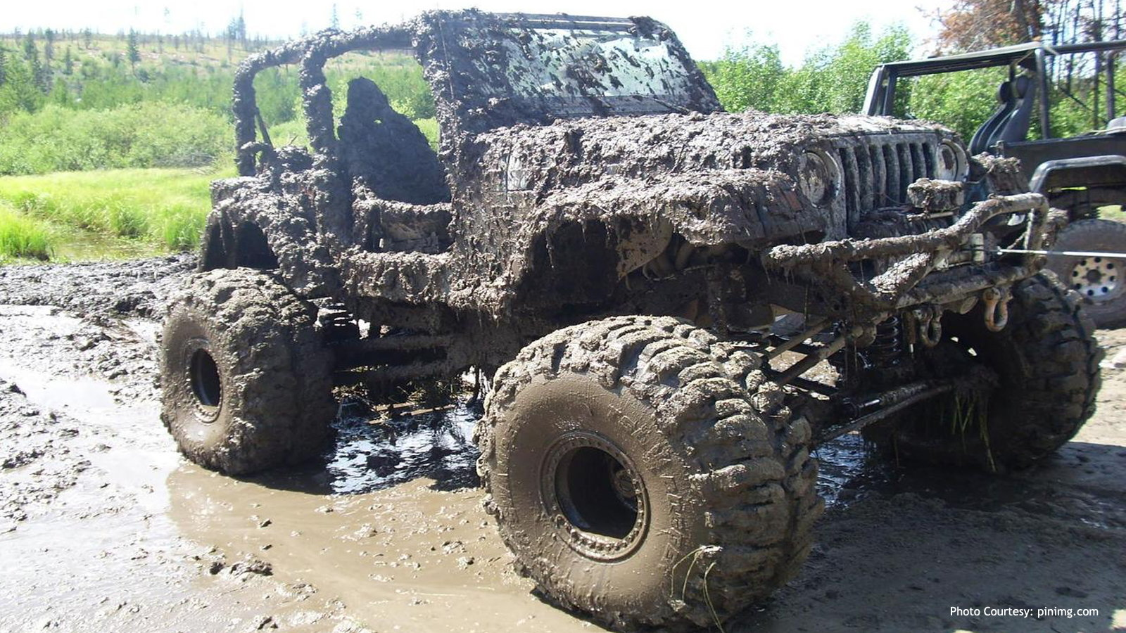 Don't Go Mudding Without the Top