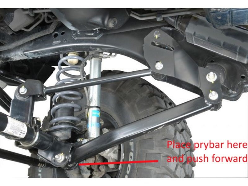2013 Jeep Wrangler Sport Review >> Jeep Wrangler JK 2007 to Present How to Install Control Arm Geometry Correction Brackets - Jk-Forum