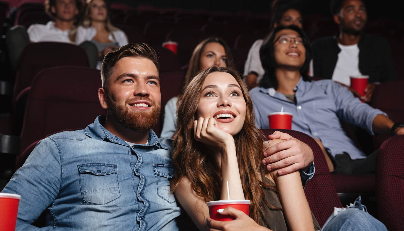 couple on a movie date