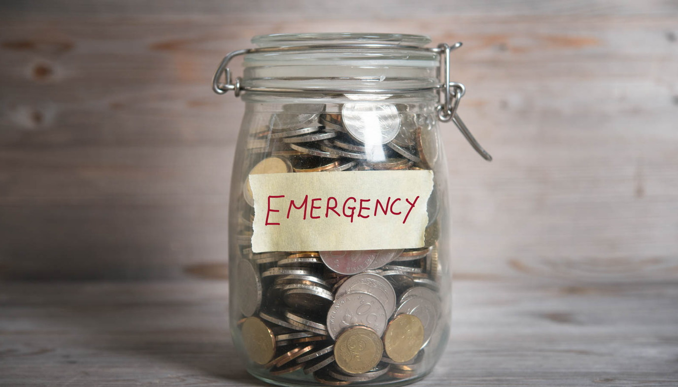 emergency money jar