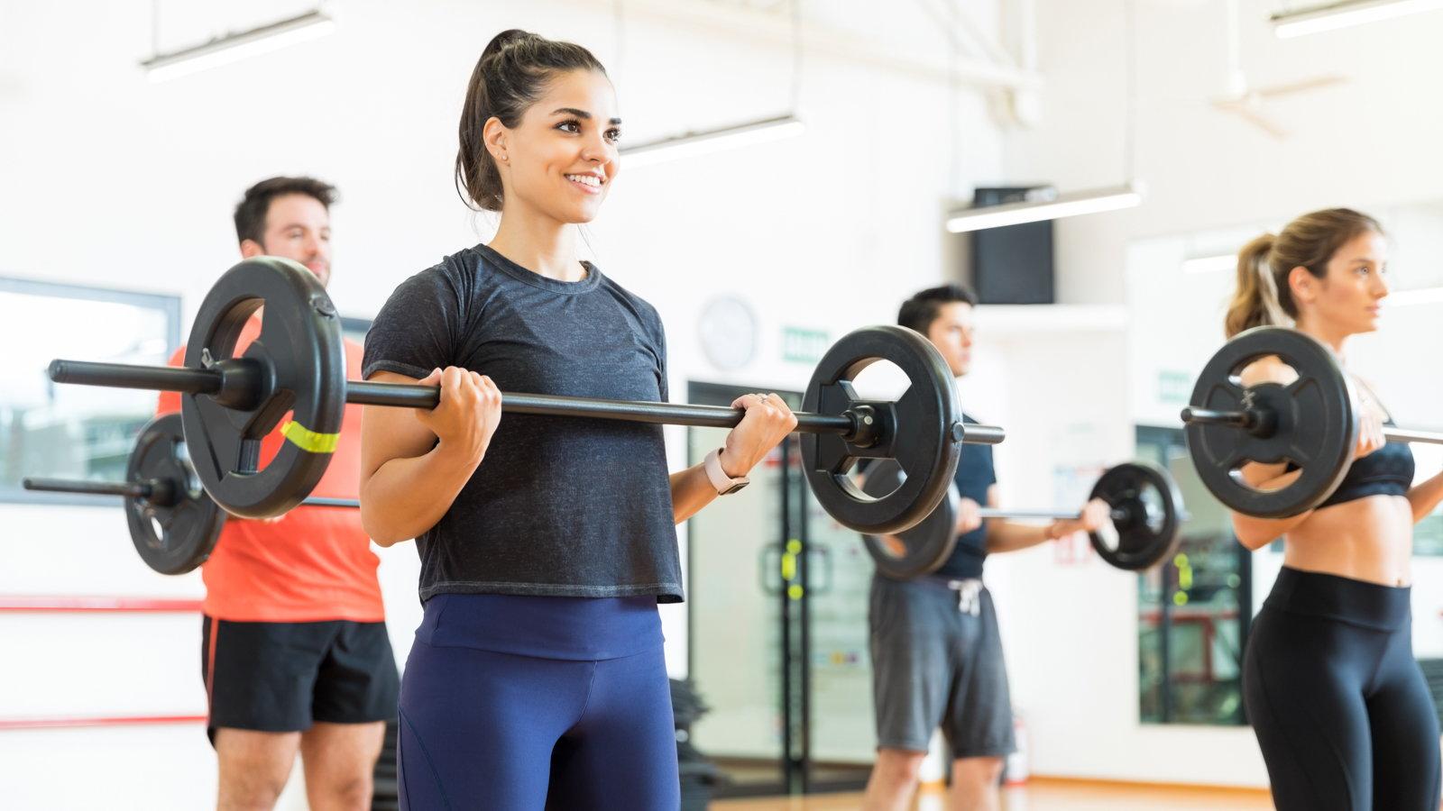 weight lifting class
