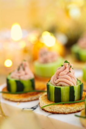 cucumber bites easy holiday appetizers