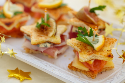 tea sandwiches easy holiday appetizers