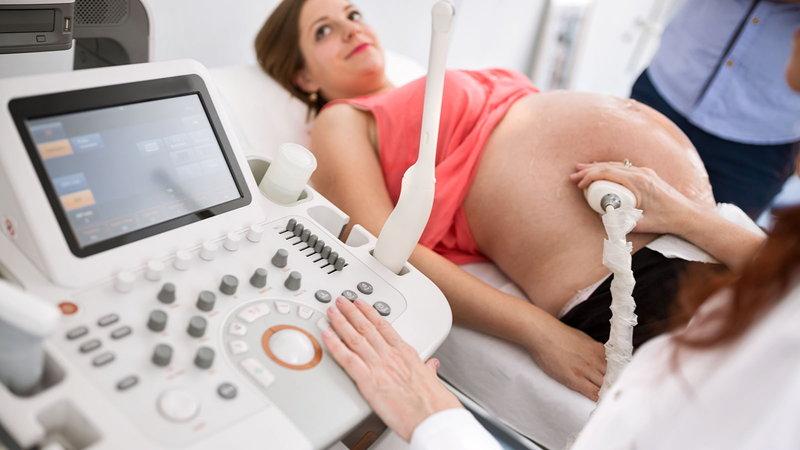 pregnancy exam