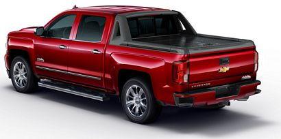 2017 Chevrolet Silverado 1500 High Country High Desert rear 3/4 view