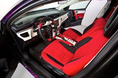 Crusher Corolla interior detail