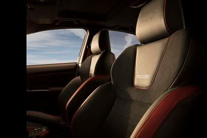2018 Subaru WRX STI Recaro seats