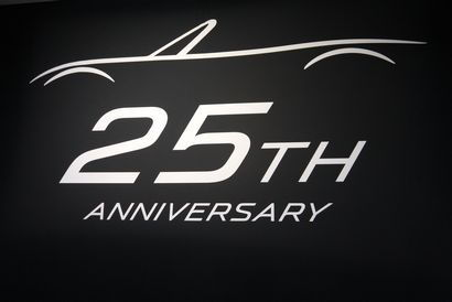 MX-5 Miata 25th anniversary logo