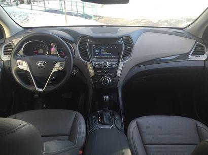 2016 Hyundai Santa Fe Sport AWD 2.0T dash