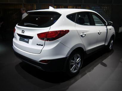 2015 Hyundai Tucson Fuel Cell
