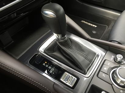 2016 Mazda Mazda6 Grand Touring 6-speed automatic shifter