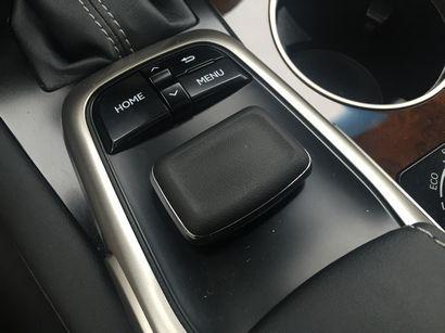 2016 Lexus RX 350 infotainment system mouse controller