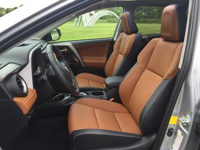2016 Toyota RAV4 Limited AWD front seats