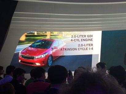 2017 Kia Forte intro at the 2016 North American International Auto Show