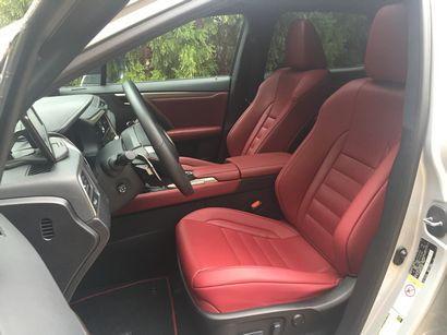 2016 Lexus RX 350 F Sport interior detail