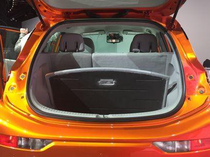 2017 Chevrolet Bolt cargo area