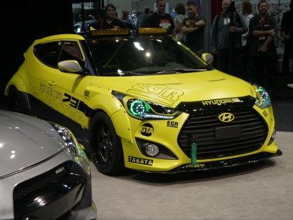 Hyundai Veloster Turbo EGR Yellowcake Concept
