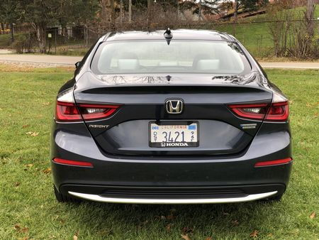 2019 Honda Insight Touring rear fascia